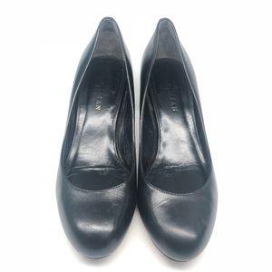 Cole Haan Air Talia Mid Pump Heel Black Size 5.5 B